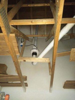 Tomahawk Radon Mitigation & Testing System Attic Installation N11445 Co Rd A LOT 18, Tomahawk, WI 54487 715-504-1122
